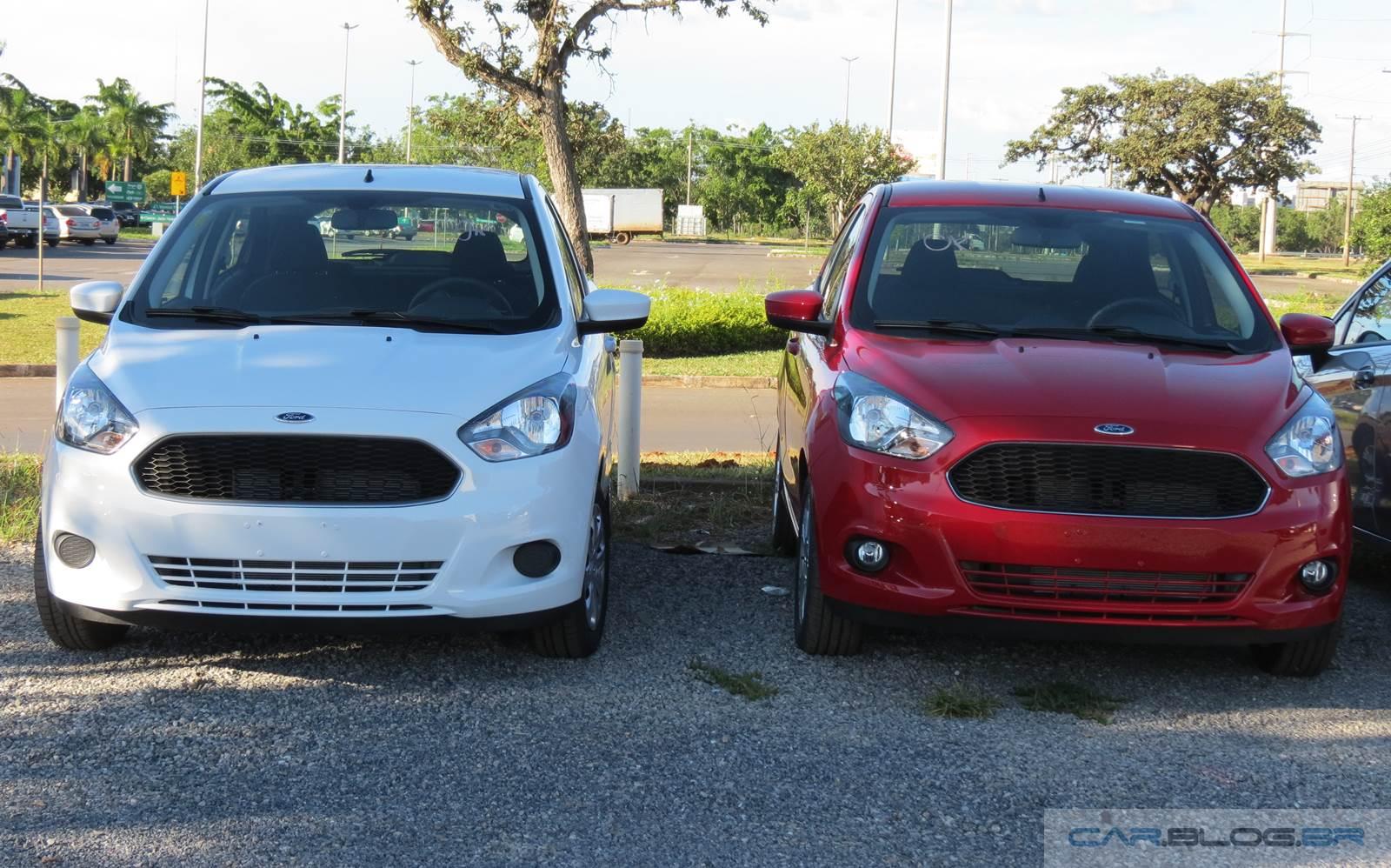 Novo Ford Ka SE e SEL 2015