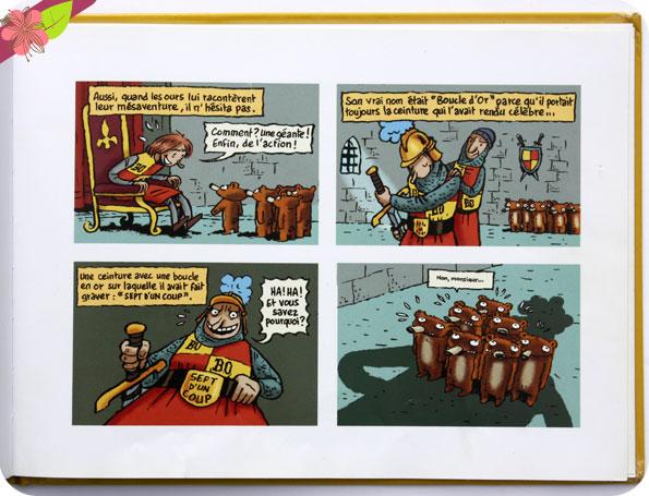 """""""Boucle d'or et les sept ours nains"""" d'Émile Bravo"""