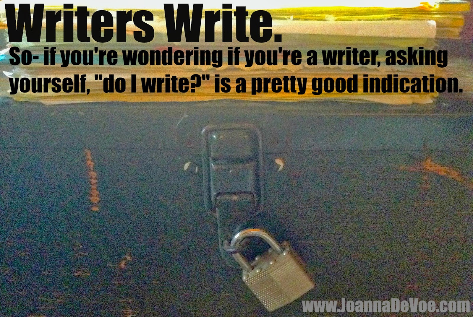 Why do I suddenly suck at writing?