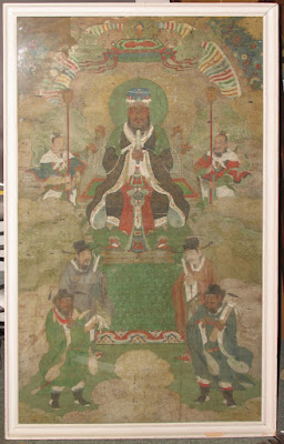 Chinese Ming Dynasty Buddhist Painting, circa 16th C.