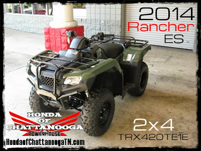2014 Rancher ES 420 SALE ATV Dealer TN Wholesale Prices Rancher Honda of Chattanooga
