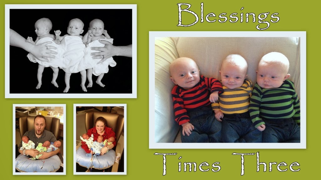 Blessings times three!