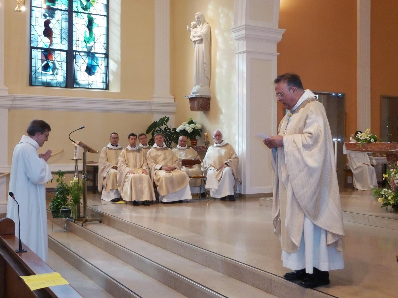 Séminaire Sainte Marie Majeure Dioc¨se de Strasbourg juin 2013