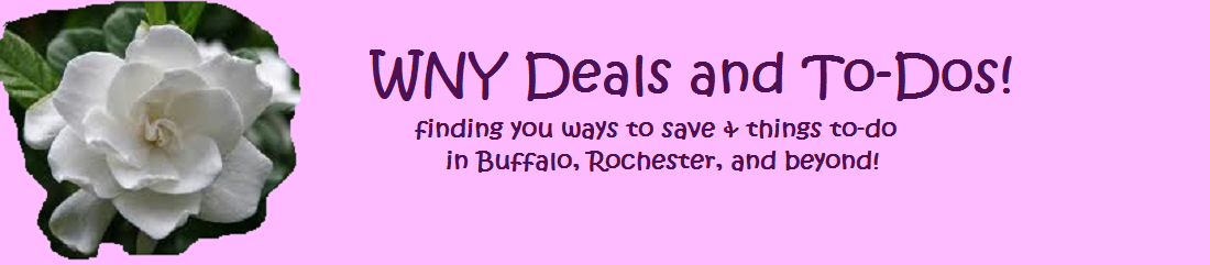 WNY Deals and To-Dos!