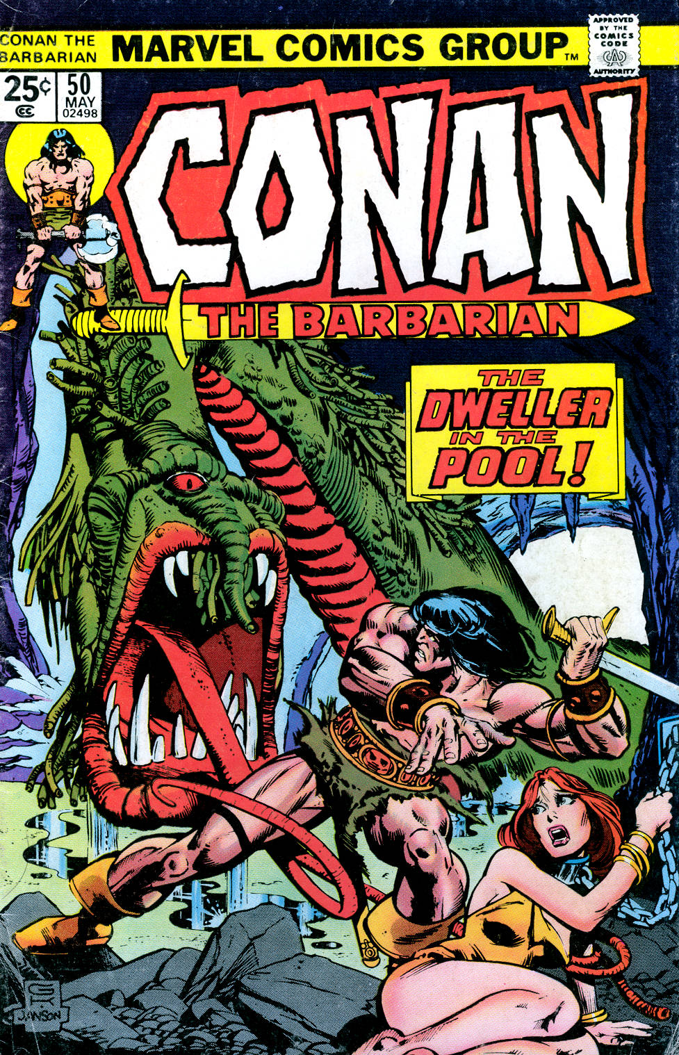 Conan the Barbarian (1970) 50 Page 1