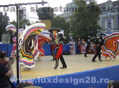 Port si dans traditional din tara Mexicului