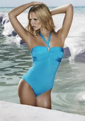 Marloes Horst Koh sexy bikini model photoshoot