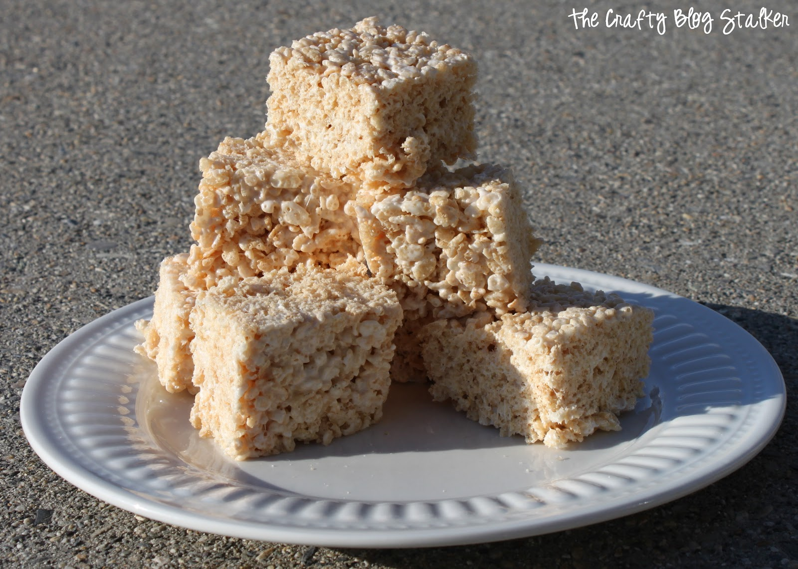 The Perfect Rice Crispy Treat The Crafty Blog Stalker
