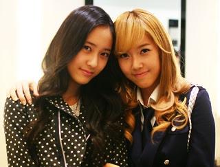 Foto Kemesraan Jessica SNSD dan Krystal F(x) Terbaru 4