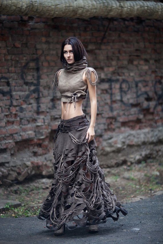 Jade Barrett Designs Post Apocalyptic Fashion