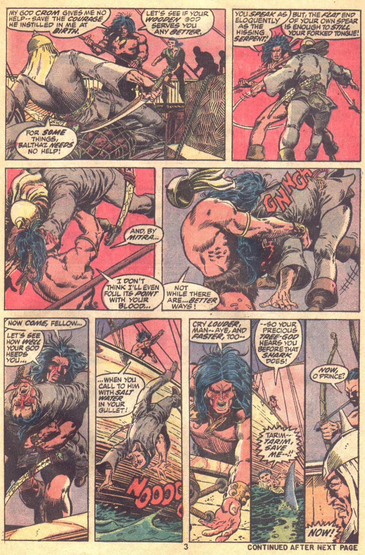 Conan the Barbarian (1970) Issue #19 #31 - English 4