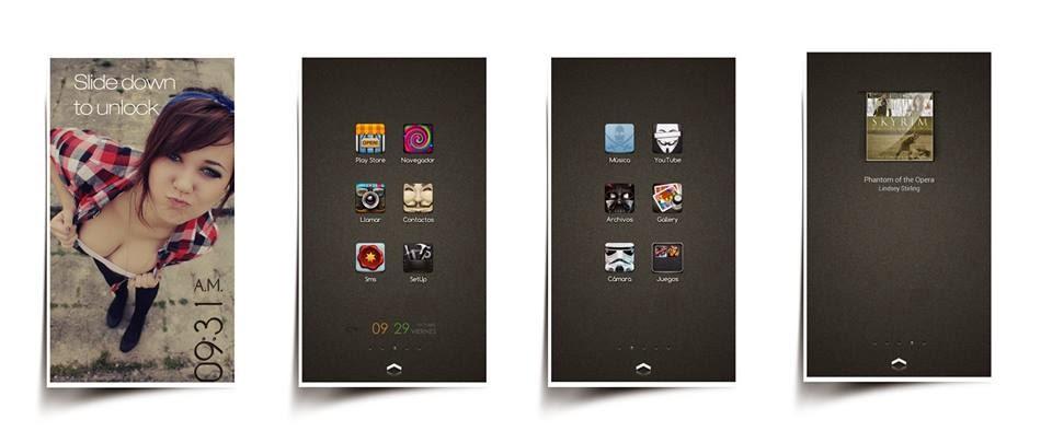Kumpulan Icon Dan Status Bar Mod Asus Zenfone 5