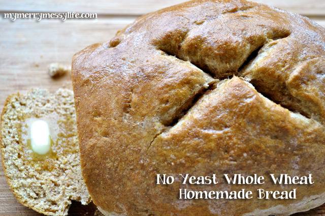 Easy crusty bread recipe no yeast