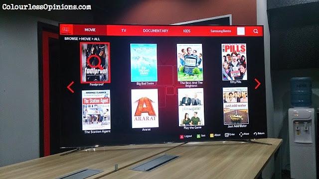 Bento Live Samsung Smart TV HD