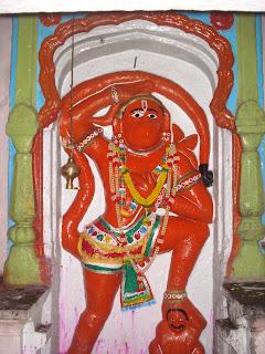 Pratap maruti chaphal - 11 Maruti temples akara hanuman darshan