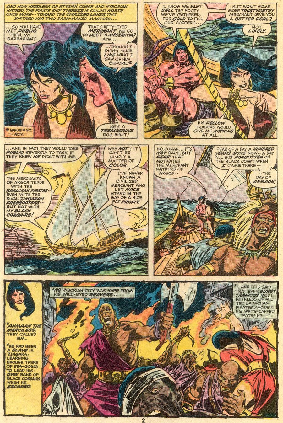 Conan the Barbarian (1970) Issue #65 #77 - English 3