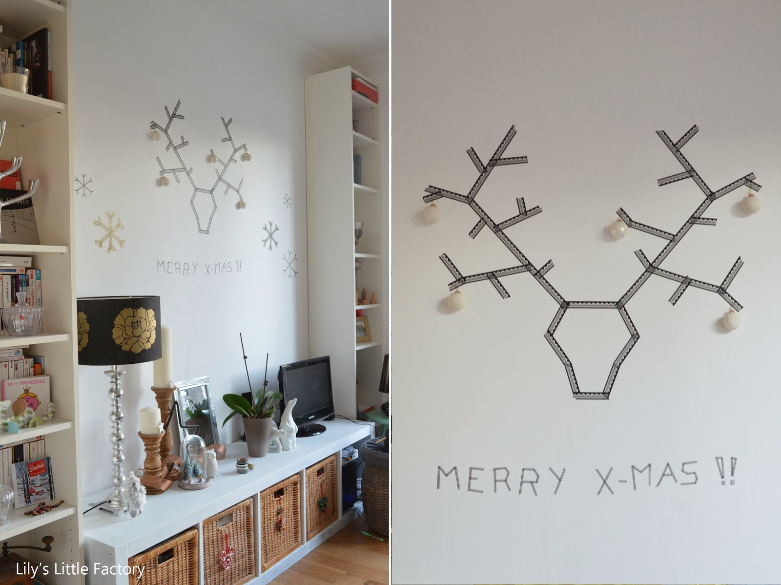 it 39 s christmas time 4 un rudolphe graphique comme troph e lily 39 s little factory blog diy. Black Bedroom Furniture Sets. Home Design Ideas