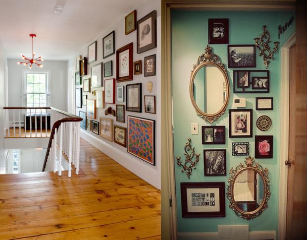 Mania de beleza decora o com quadros e espelhos - Placas para decorar paredes ...