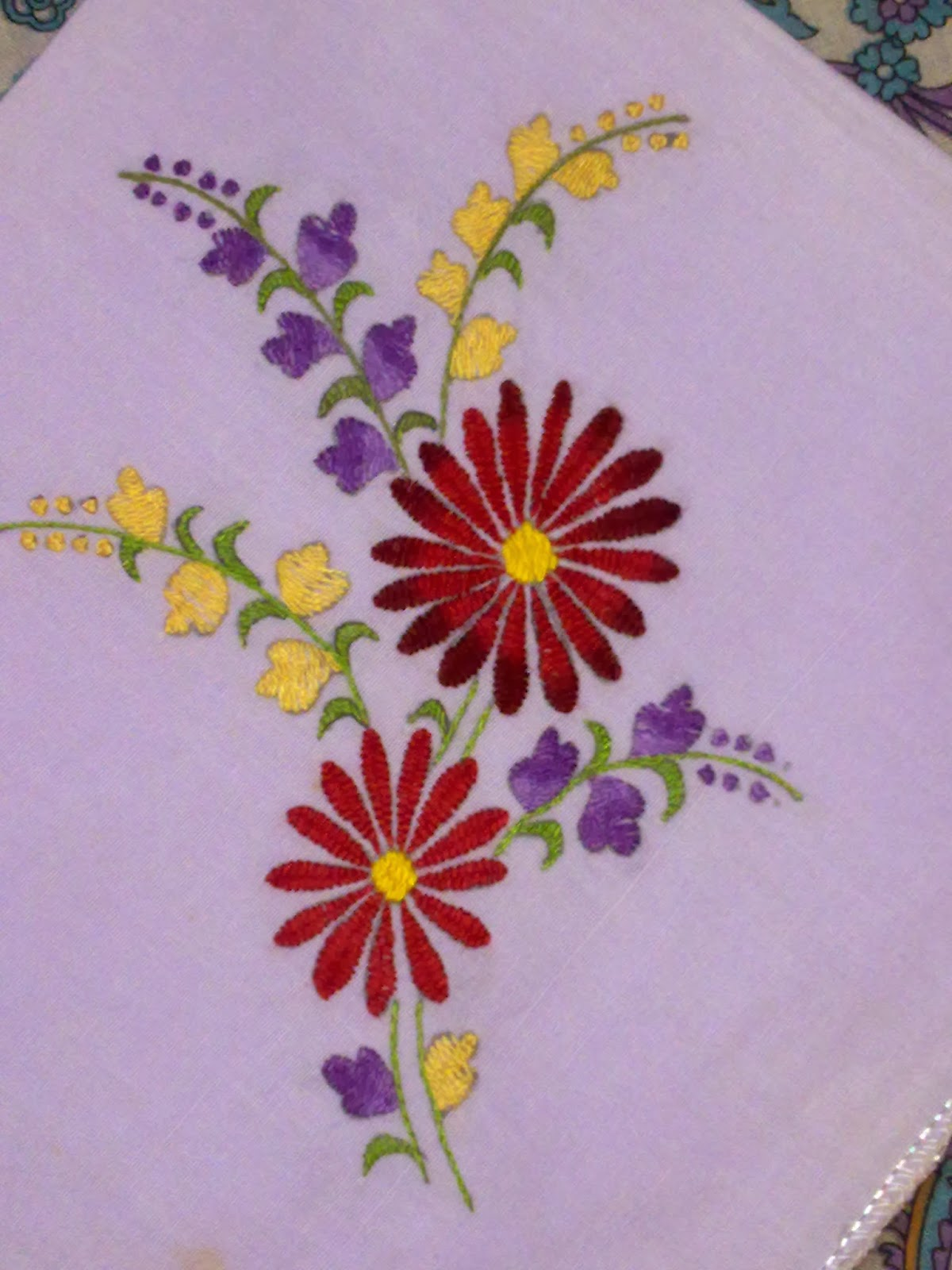 Arttycraft By Indu Hand Embroidered Napkin  Hand