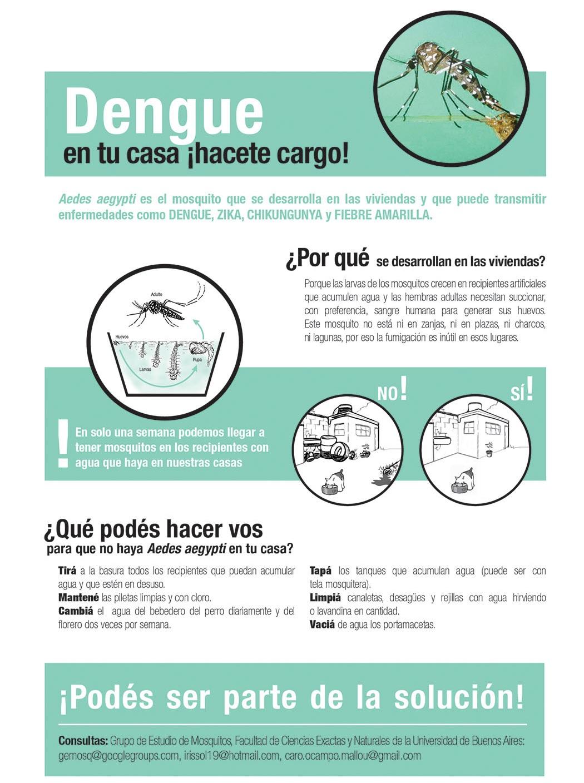 Campaña de prevención del Dengue