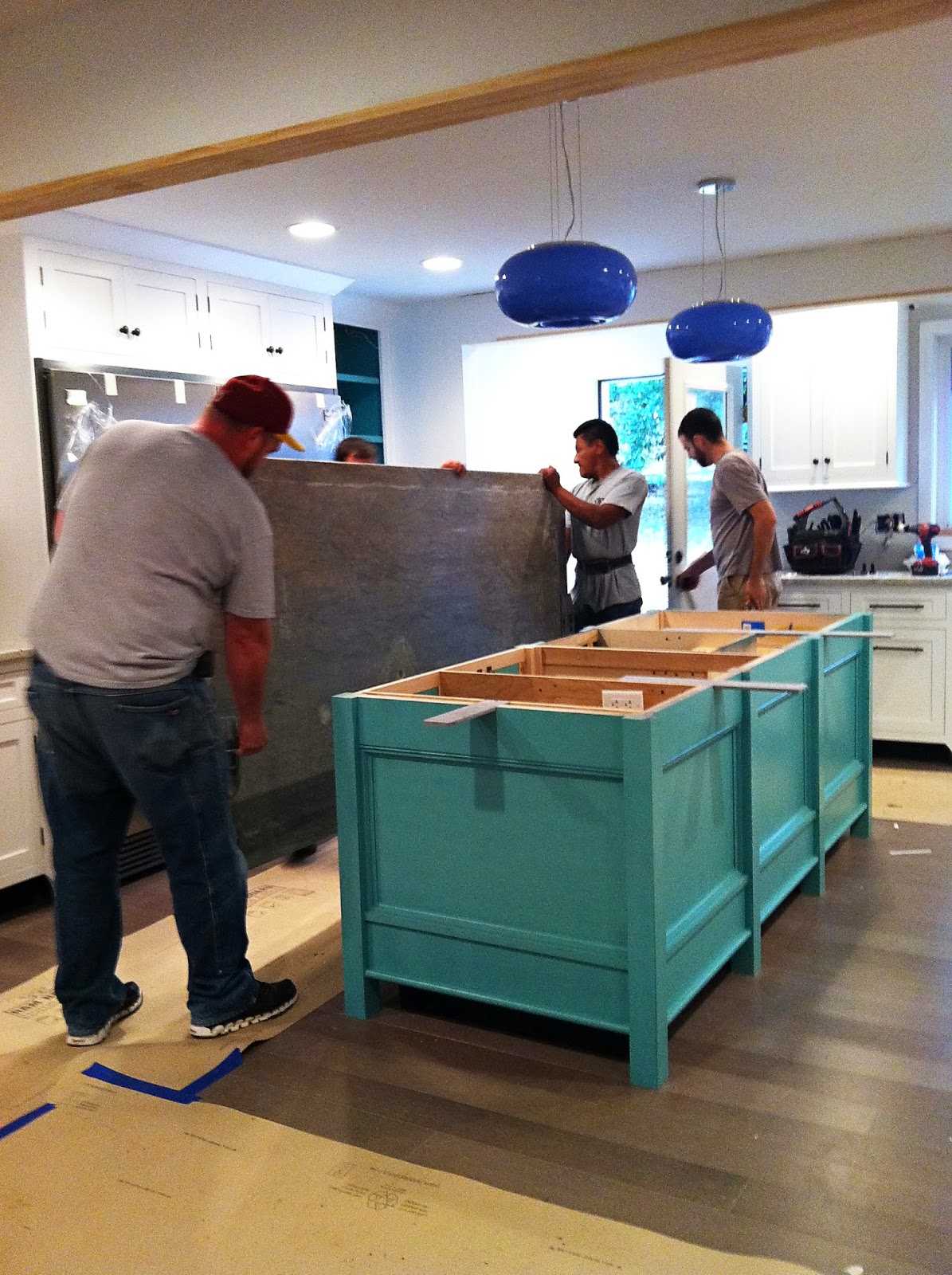 Castle On King Counter Tops An Endless Search For The One: granite 25 per square foot