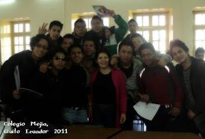 Saludos a los alumnos del Colegio Mejia