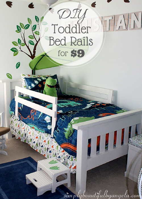 diy bed rail for toddler 2