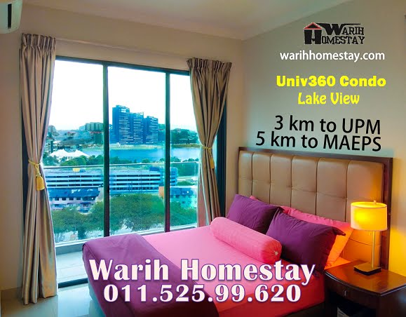 Warih Homestay Lake View Dekat Near UPM Uniten MAEPS Mardi Putrajaya Sesuai Seisi Keluarga