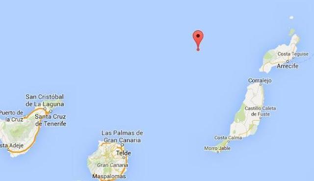 terremoto aguas canarias lanzarote fuerteventura