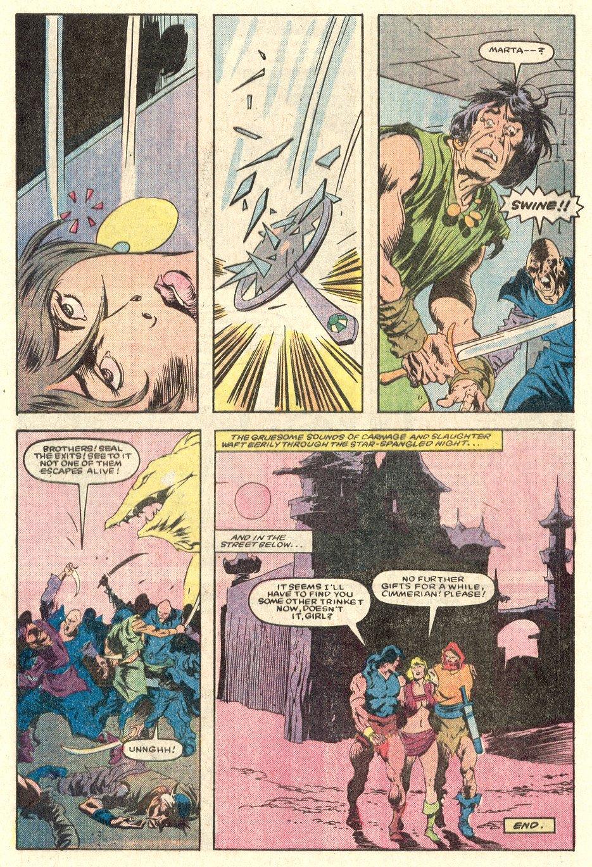 Conan the Barbarian (1970) Issue #165 #177 - English 24