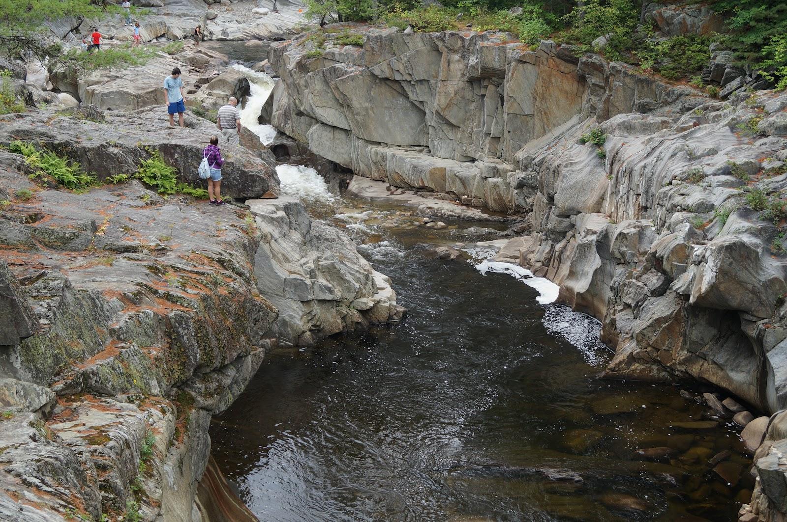 Coos Canyon Falls Maine