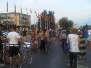 Аман! Протест во Скопје - Влада