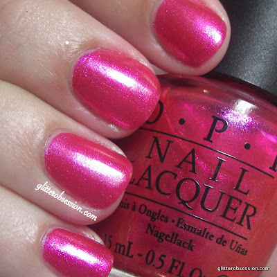 OPI Be A Dahlia Won't You? nail swatch