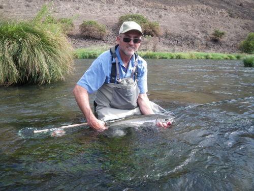 Reports august steelhead fishing report deschutes river for Deschutes river fishing report