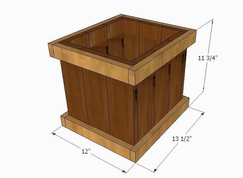 Simply easy diy garden outdoor projects for Cedar garden box designs