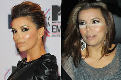 Eva Longoria Makeup Disasters