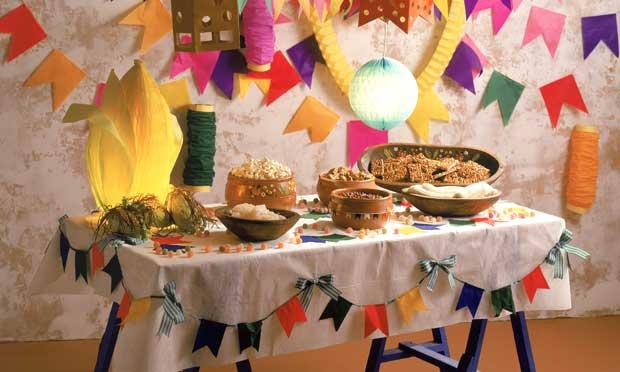 existem diversas outras formas de decorar o ambiente da Festa Junina