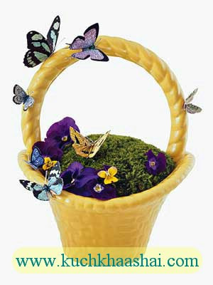 Simple Spring & Easter Centerpieces
