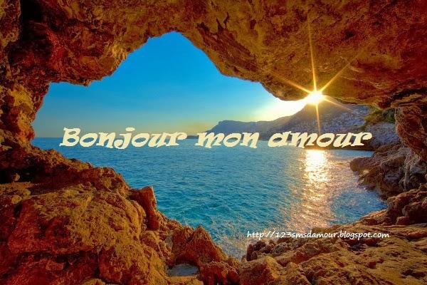 Souvent Bonjour mon amour je t'aime | Amourissima - Mots d'amour -SMS d'amour ZN35
