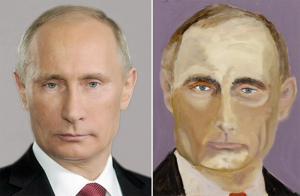 """Putin"" by President George W. Bush"