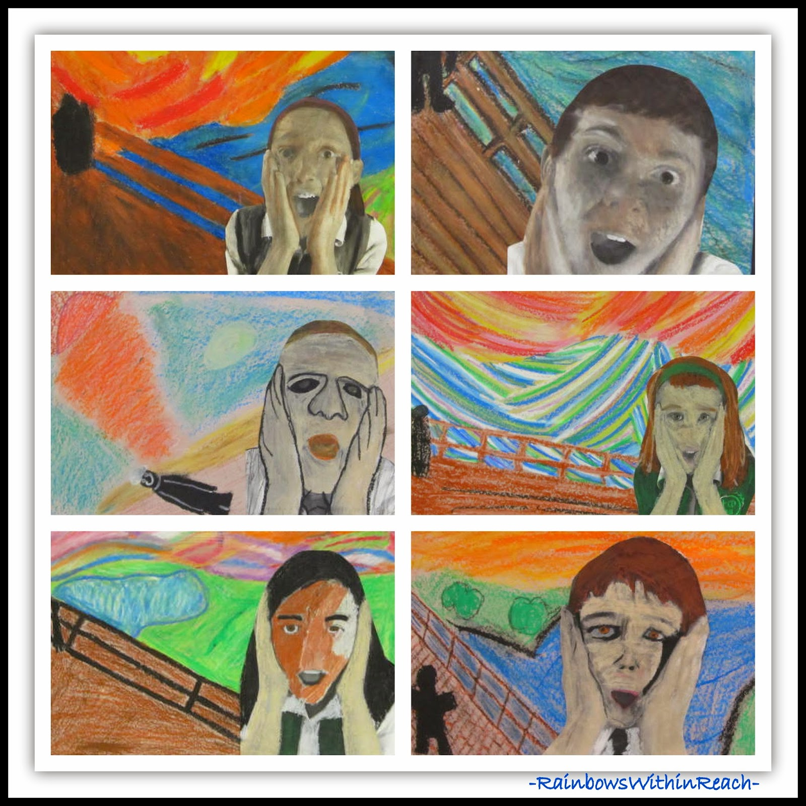 Art History in Elementary School at RainbowsWithinReach