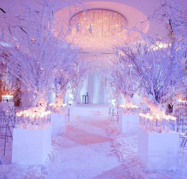 Platinum touch events winter wonderland wedding inspiration solutioingenieria
