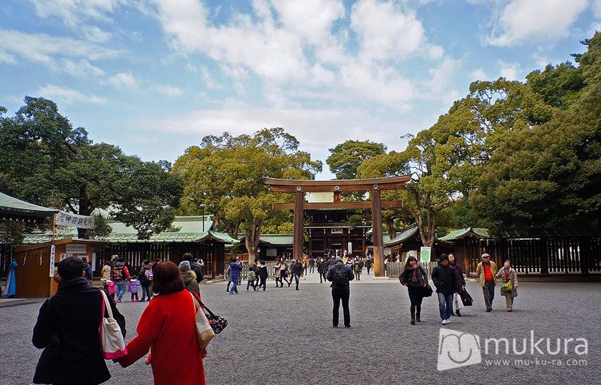 ศาลเจ้าเมจิ (Meiji Jingu)