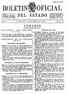 BOE de 1940