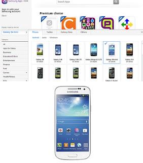 Galaxy S4 Mini Hadir di Situs Resmi Samsung