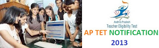 APTET 2013 Notification