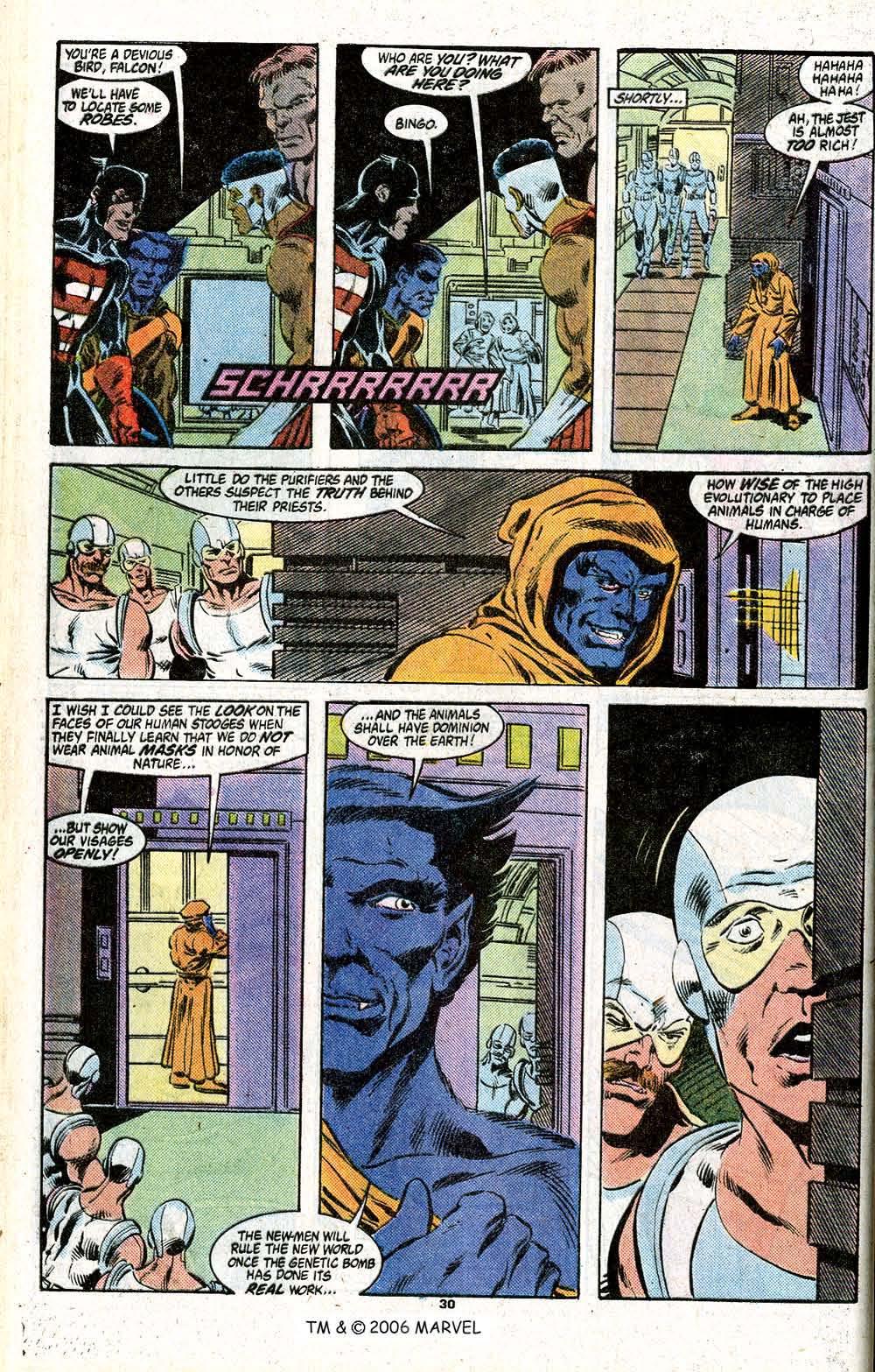 Captain America (1968) Issue #348c #280 - English 32