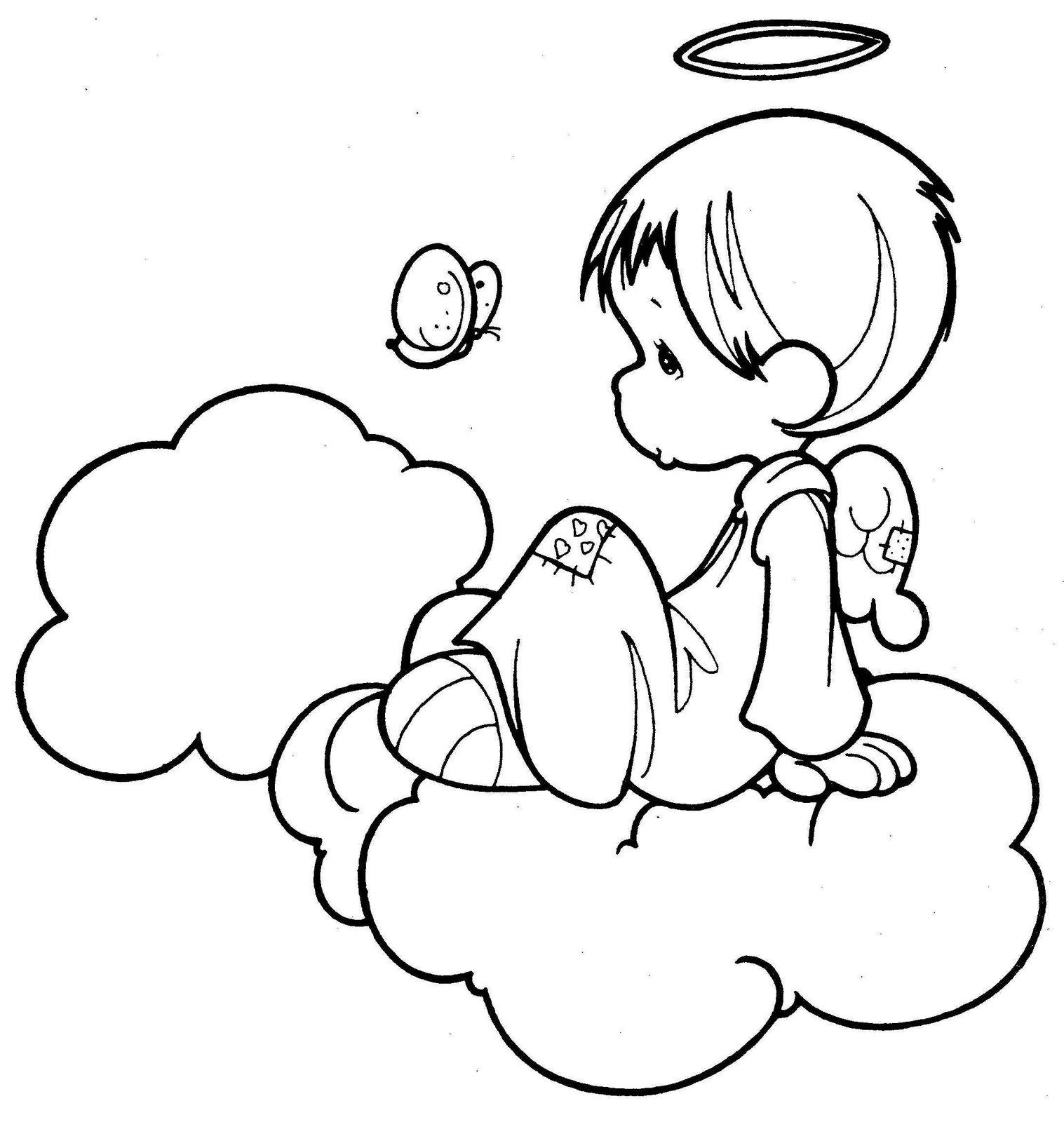 Mi colección de dibujos: ? Angelitos ?
