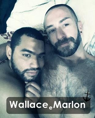 nossos âncora | Wallace e Marlon