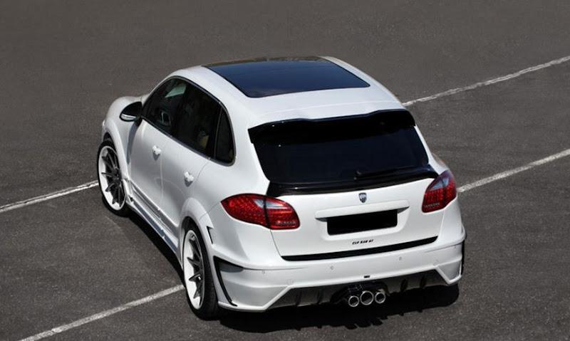 Porsche Cayenne by Lumma Design White Papers